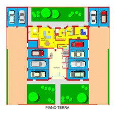 Planimetry1 Apartments Ferrara Plot 11