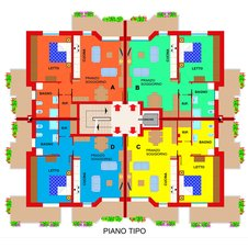 Planimetry2 Apartments Ferrara Plot 11
