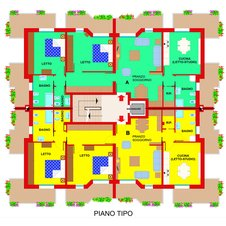 Planimetry3 Apartments Ferrara Plot 11