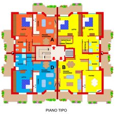 Planimetry4 Apartments Ferrara Plot 11