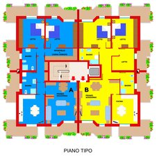 Planimetry7 Apartments Ferrara Plot 11